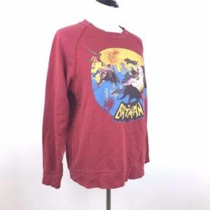 Batman Classic DC Batman Long Sleeve Sweater Top